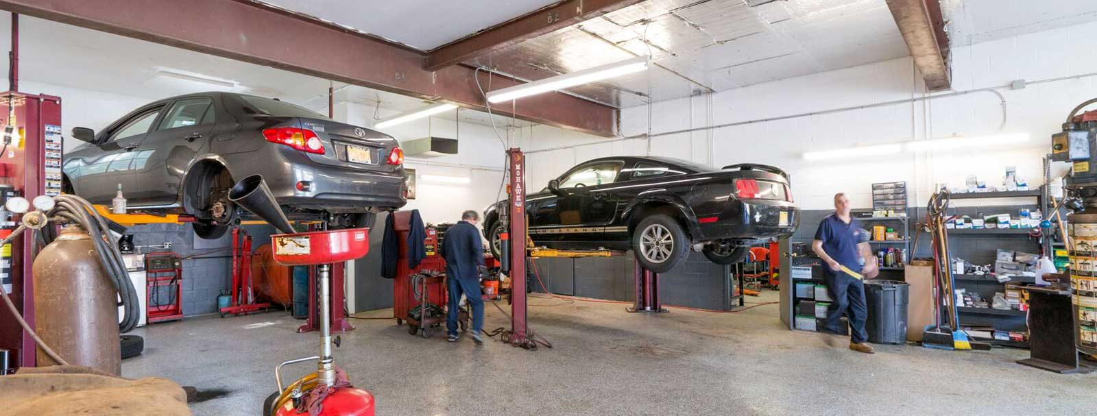 Milelli's Auto Repair & Towing's Service Bays